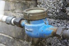 vatten för flödesmätningsräkneverk Royaltyfri Fotografi