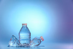 vatten för flaskor två Royaltyfria Foton