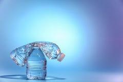 vatten för flaskor två Royaltyfri Bild