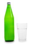 vatten för green för flaskexponeringsglas Arkivfoton