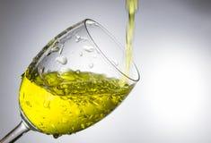 Vatten för gul guld Royaltyfri Fotografi