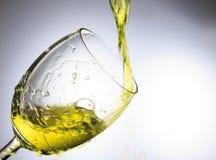 Vatten för gul guld Arkivfoton