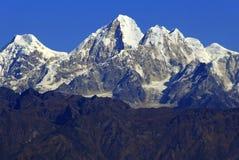 vatten för himalayas för färgteckningshand Fotografering för Bildbyråer