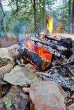 Vatten för jordvindbrand royaltyfria foton