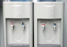 vatten för kylare två Arkivfoto
