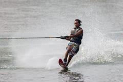 Vatten 2015 för mästerskap för den Putrajaya koppen skidar nationellt och Wakeboard Arkivbild