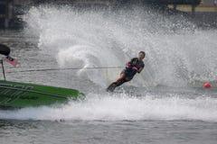 Vatten 2015 för mästerskap för den Putrajaya koppen skidar nationellt och Wakeboard Royaltyfri Foto