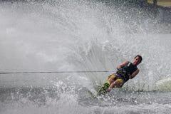 Vatten 2015 för mästerskap för den Putrajaya koppen skidar nationellt och Wakeboard Arkivfoton