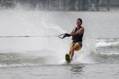 Vatten 2015 för mästerskap för den Putrajaya koppen skidar nationellt och Wakeboard Fotografering för Bildbyråer