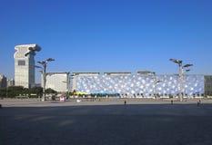 vatten för plaza för pangu för beijing kubhotell Arkivfoton
