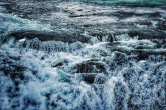 vatten för vektor för modell för bakgrundsfärgillustration seamless Royaltyfria Foton