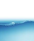 vatten för vektor för modell för bakgrundsfärgillustration seamless Fotografering för Bildbyråer