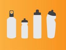 vatten för version för flaskillustrationraster vektor illustrationer
