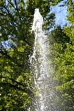 Vatten från springbrunnen Royaltyfri Fotografi