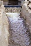 Vatten i akvedukt Royaltyfri Bild