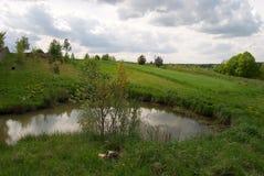 Vatten i Polen Arkivbilder