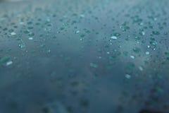 Vatten i regnigt royaltyfria bilder
