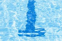 Vatten i simbassäng/water textur Royaltyfria Foton