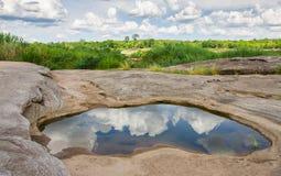 Vatten i vagga Royaltyfri Fotografi