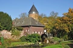 Vatten mal av Brueggen, lägre Rhine Royaltyfria Bilder