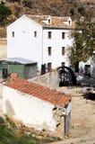 Vatten maler, Antequera, Spanien. Arkivbilder