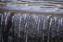 Vatten och bubblor Arkivbild