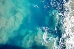 Vatten och vågor Royaltyfri Foto