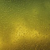 Vatten på exponeringsglasen Fotografering för Bildbyråer