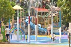 Vatten parkerar i den Singapore zoo Royaltyfri Bild