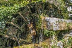 Vatten rullar in Provence, Frankrike arkivfoto