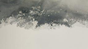 Vatten, snö och is Royaltyfria Foton