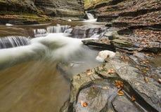 Vatten sned tips och reflexioner royaltyfri fotografi