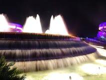 Vatten som faller - Orlando Disney Arkivfoton