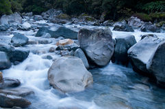Vatten som floing Arkivbild