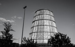 Vatten som kyler tornet royaltyfri foto