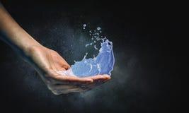 Vatten som livkälla Arkivbilder