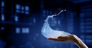 Vatten som livkälla Arkivfoton