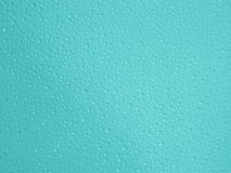 Vatten tappar turkosbakgrund - materielfoto Royaltyfria Foton