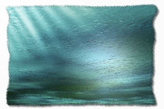 Vattenbakgrund Royaltyfria Bilder