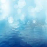 Vattenbakgrund stock illustrationer