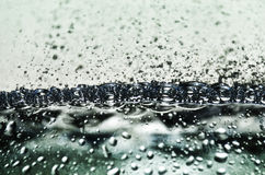 Vattenbubblor fotografering för bildbyråer