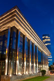 Vattenbyggnad, Bilbao Arkivfoto