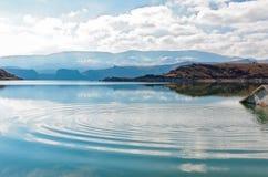 Vattencirklar Fotografering för Bildbyråer