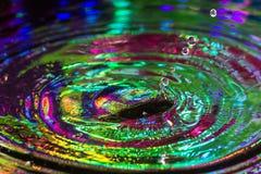 Vattendroppar Fotografering för Bildbyråer