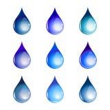 Vattendroppar Royaltyfri Bild