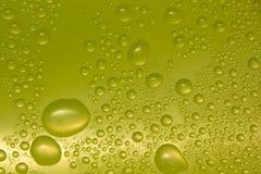 Vattendroppar på exponeringsglas Royaltyfri Fotografi