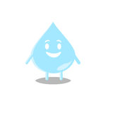 Vattendroppe Arkivfoto