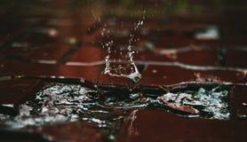 Vattenexplosion Arkivbild