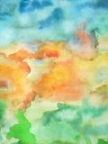 vattenfärg 01 Royaltyfri Bild