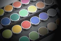 vattenfärg Arkivfoton